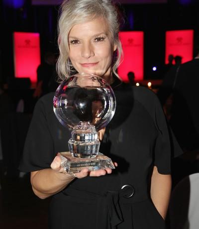 Ina mit Steiger Award ausgezeichnet